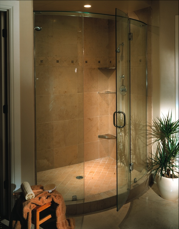 Bear Glass has Options for a Frameless Shower | Bear Glass Blog