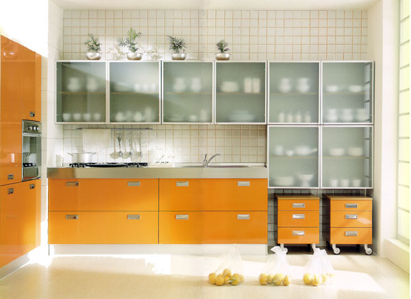 Amazing Kitchen Glass Cabinet Doors Collection