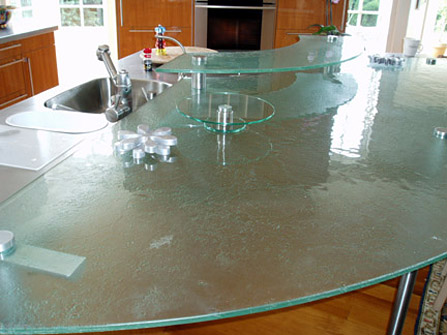 Glass Countertops By Bear Glass Brooklyn NY