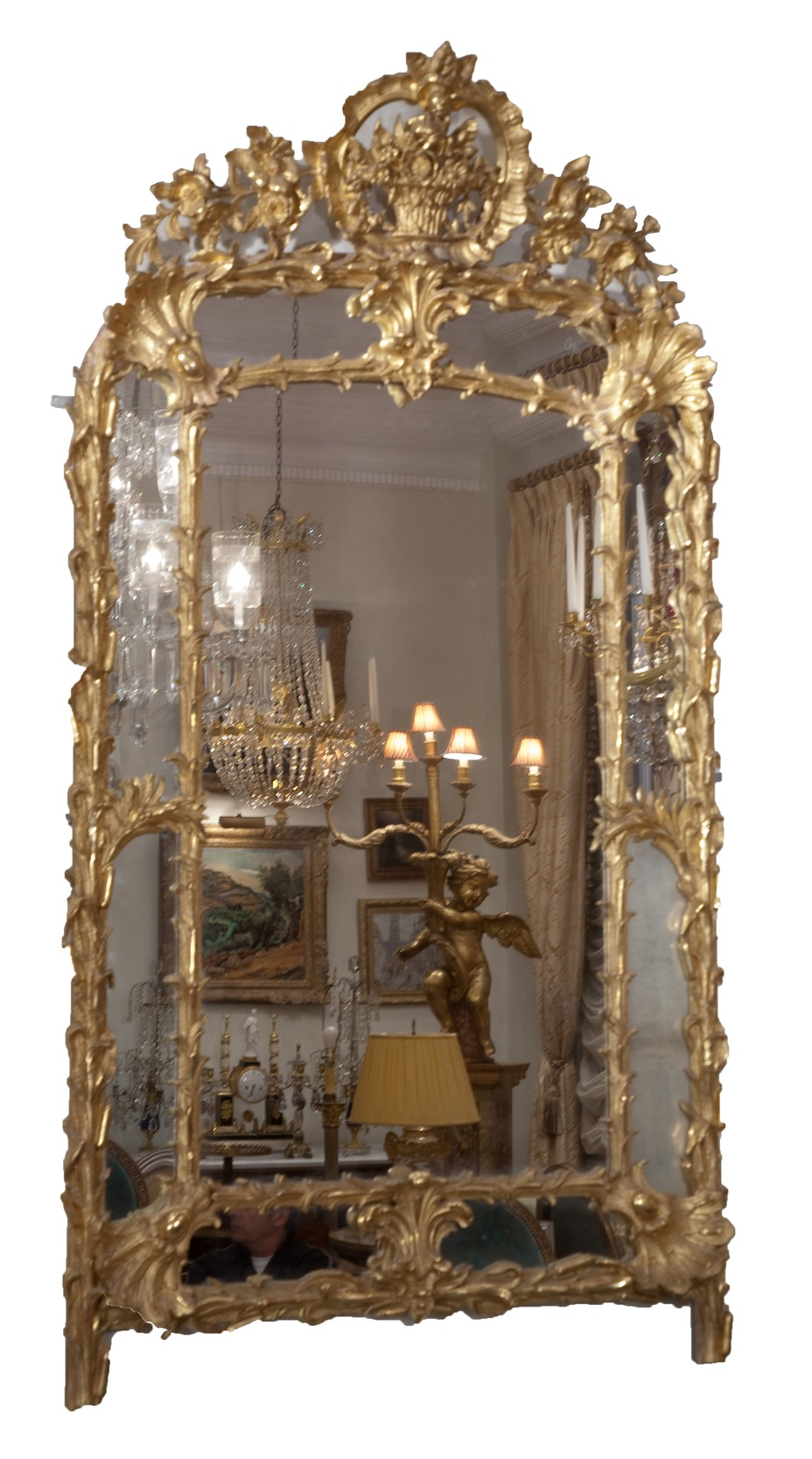 New York Antique Glass Mirror, New Jersey Antique Glass ...