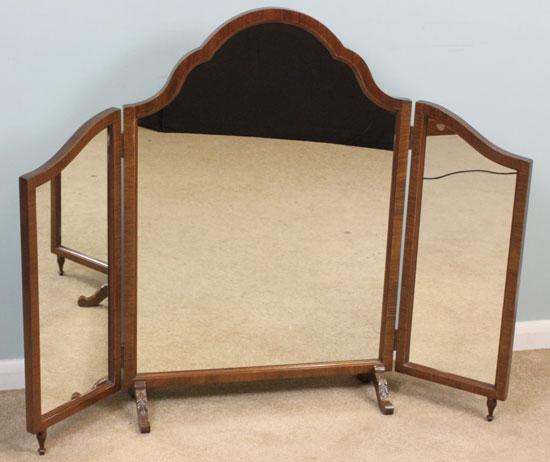 antique mirror bear glass - 550×462