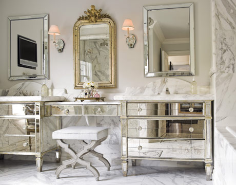 Mirrored Glass Furniture | Bear Glass Blog