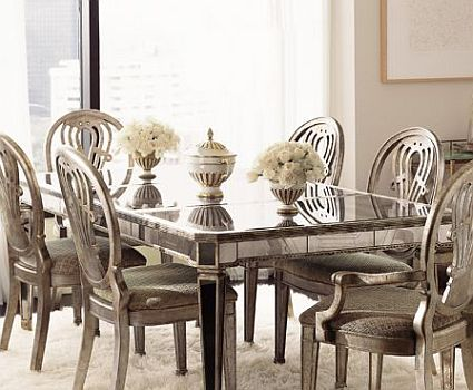 Mirror Tables Furniture. Murano Dining Table (Mirror Finish ...