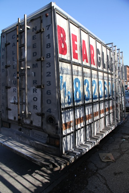 glass racks and van racking by Bear Glass