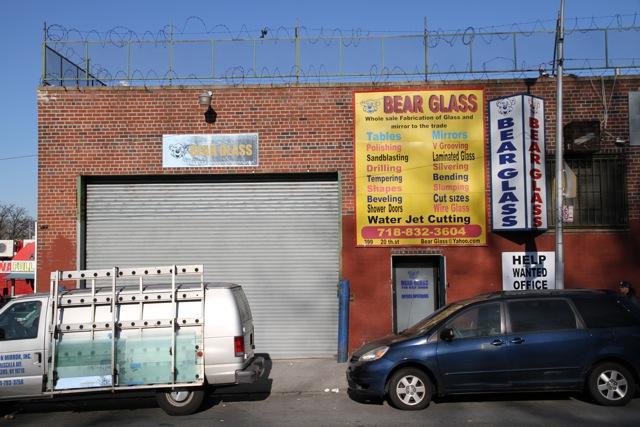 Bear Glass has A large fleet of truck