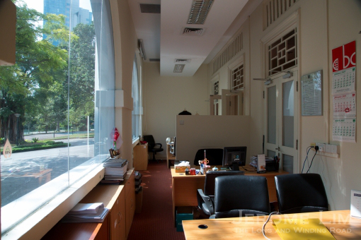 open spaces in the workplace