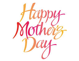 Bear Glass Wishes A Very Happy Mothers Day in Advance