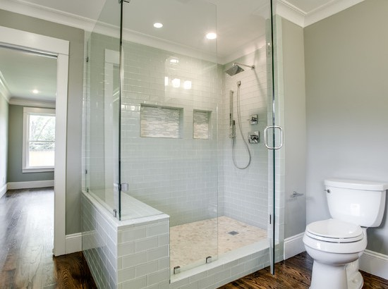 Charmant Add A Touch Of Class To A Simple Bathroom With Beautiful Two Way Shower  Doors