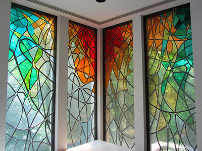 Stained Glass A Colorful World Bear Glass Blog