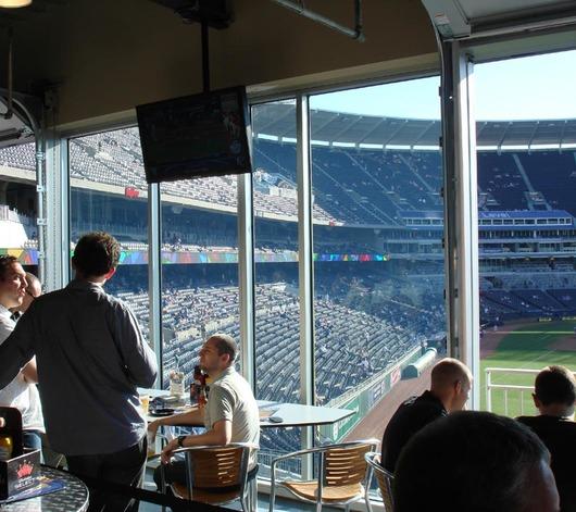 anti reflective glass stadium