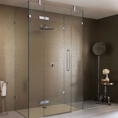 framless shower door