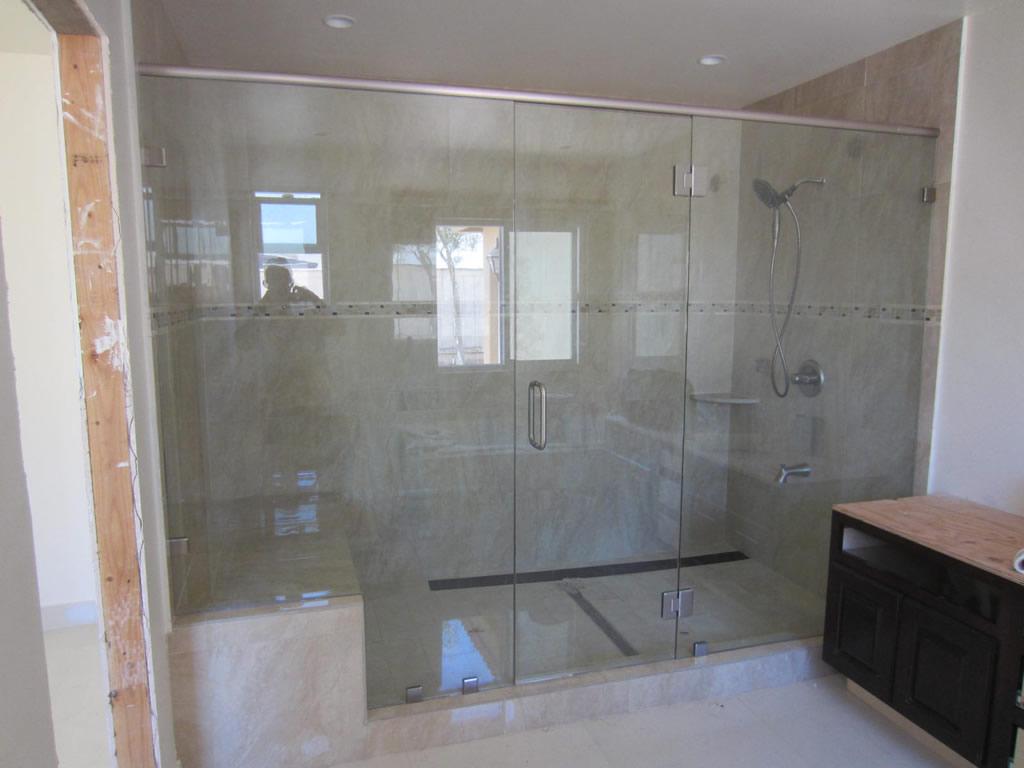 Tempered Shower Enclosure